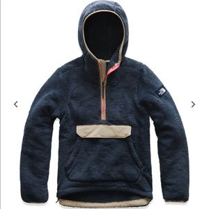 North face campshire pullover fleece hoodie